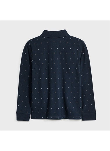 Mayoral Mayoral Erkek Çocuk Polo Yaka SweaT-shirt Lacivert
